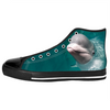 Beluga Whale High Top Sneakers