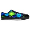Blue and Green Zoanthid Garden Low Top Sneakers