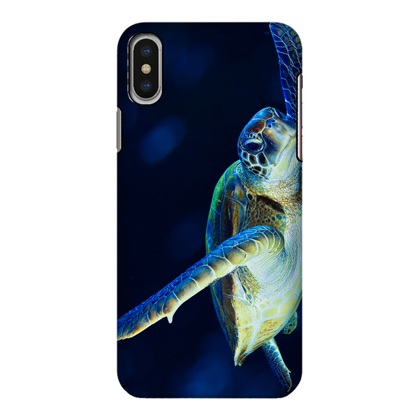 Blue Turtle Fully Printed Tough Phone Case