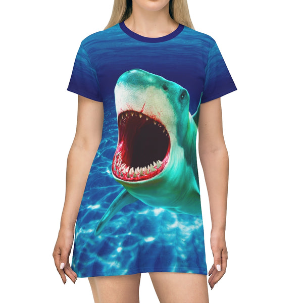 Scary Waters T-Shirt Dress