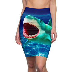Scary Waters Women's Pencil Skirt