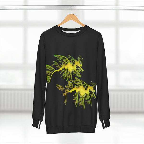 Unisex Leafy SeaDragon Couple Sweatshirt