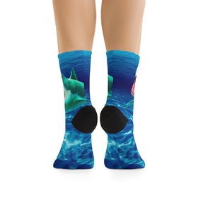 Scary Waters Socks