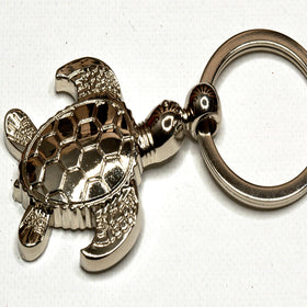 Silver Turtle-King Key Chain