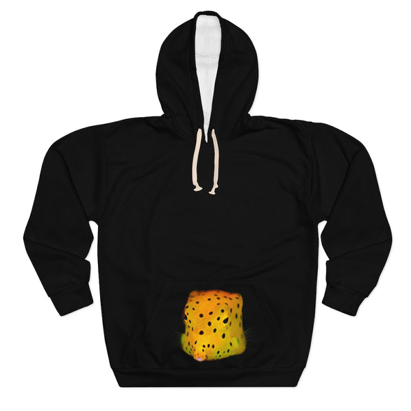 Unisex Yellow Spotted Box Fish Pullover Hoodie
