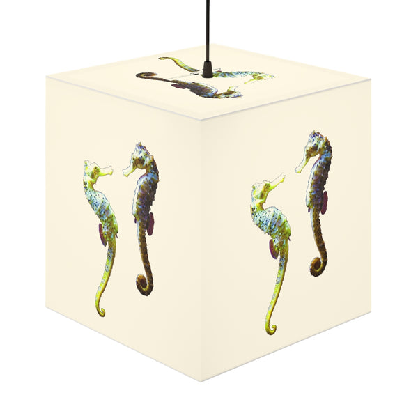 Seahorse Couple Personalized Lamp
