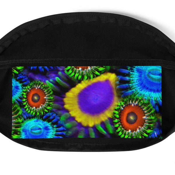 Multi Colored Zoanthid Garden Fanny Pack