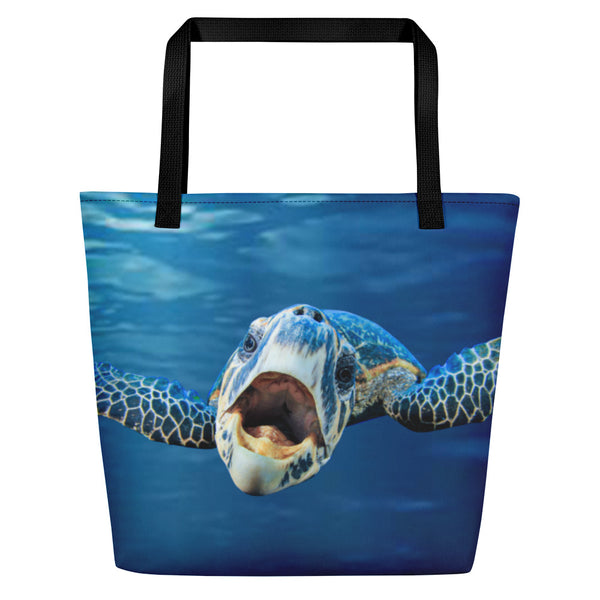 Cranky Turtle Beach Bag