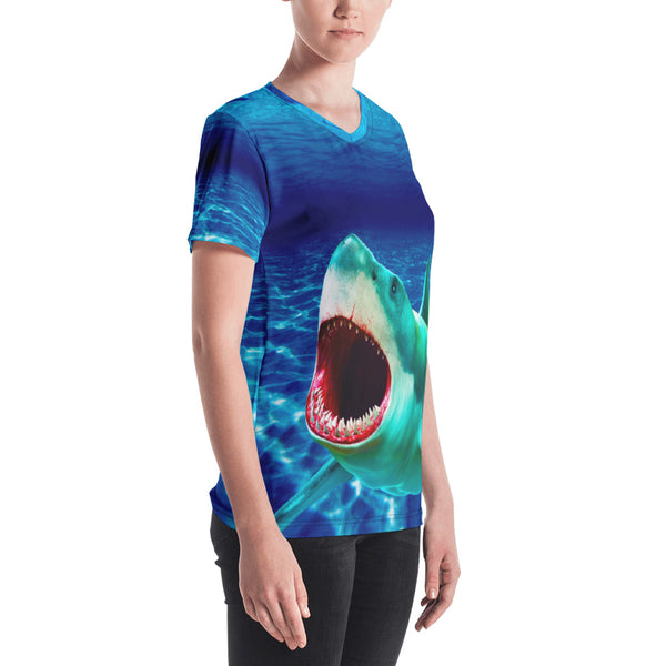 Scary Waters Women's V-neck