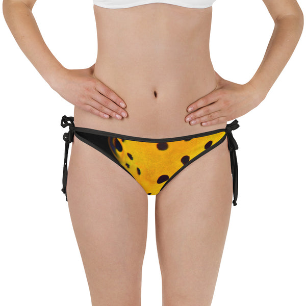 Yellow Spotted Box Fish Bikini Bottom