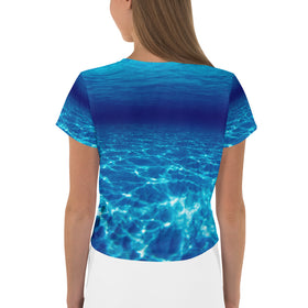 Scary Waters Crop Tee