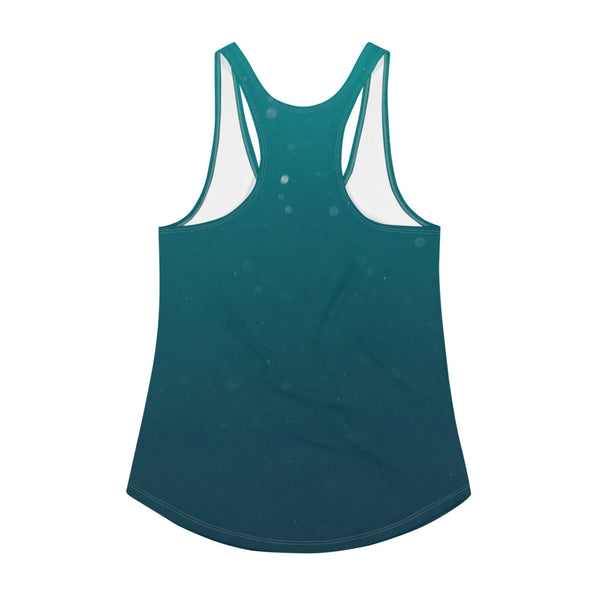 Swimming Turtle Women's Racerback Tank