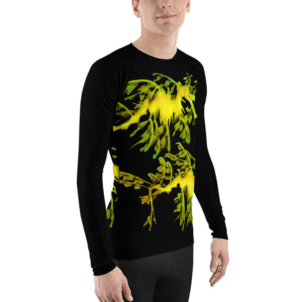Leafy SeaDragon Couple Men's Rash Guard