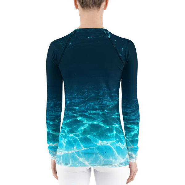 Jumpy Turtle Women's Rash Guard
