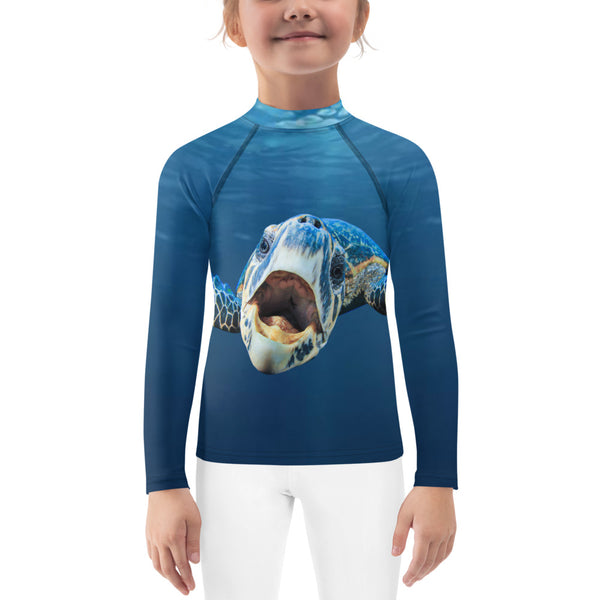 Cranky Turtle Kids Rash Guard