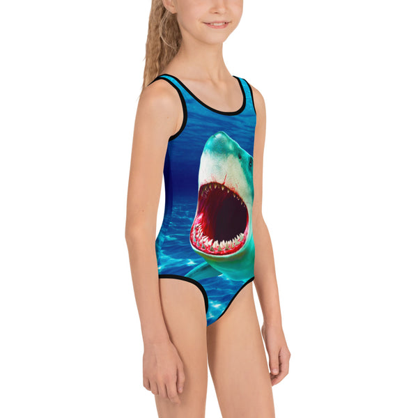 Scary Waters Kids Swimsuit