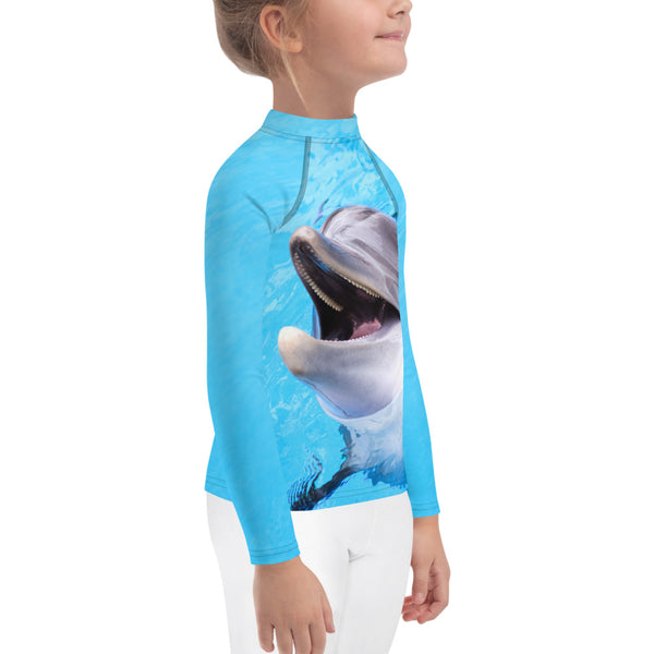 Smiley Guy Kids Rash Guard