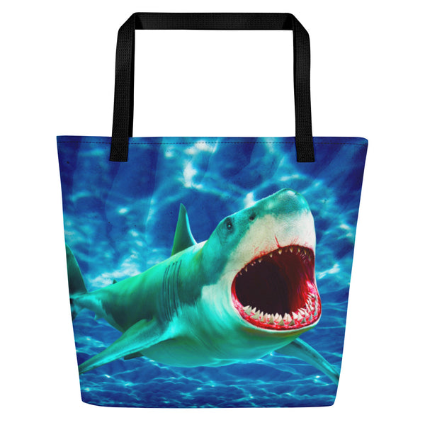 Scary Waters Beach Bag