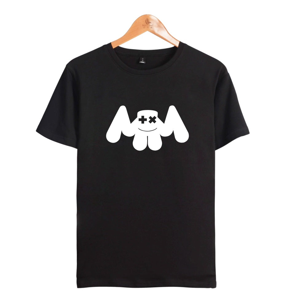 Trendy DJ Marshmello Smile face Unisex T shirt