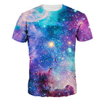Trendy Unisex 3D Space Print T-shirt