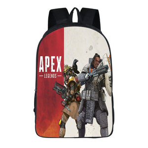 Apex Legends Game Polyester Comfortable Backpack Students Schoolbag