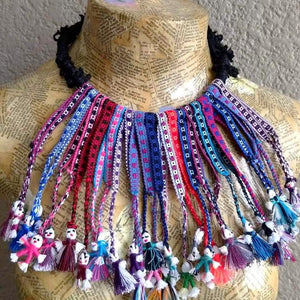 Hand-waved Dolls Necklace