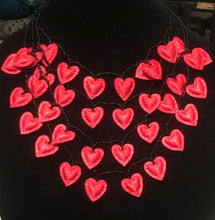 Load image into Gallery viewer, Hearts Cascade Necklace