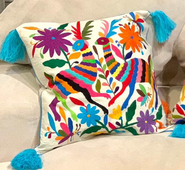 Tenango Pillow Cover
