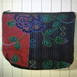 Embroidered Cosmetic Bags