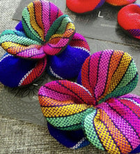 Load image into Gallery viewer, Rebozo Hair Clips Clover Set