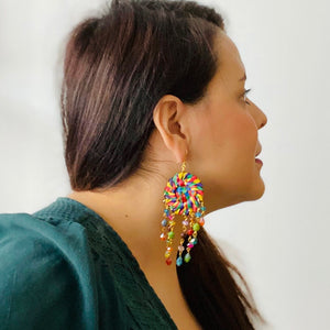 Rehilete Multicolor Earrings