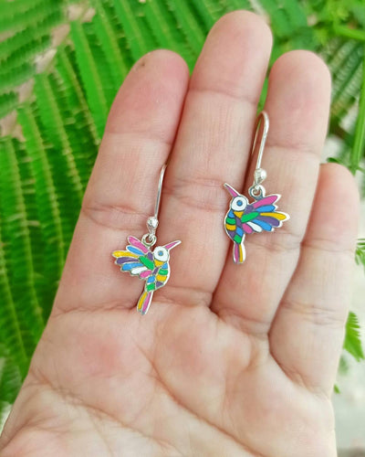Colibri Sterling Silver Earrings