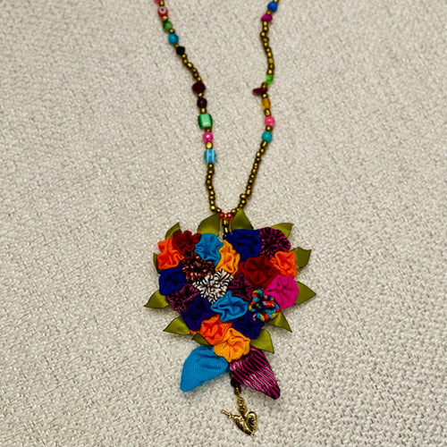 Rebozo Heart Necklace