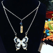 Load image into Gallery viewer, Butterfly Silver Plated Necklace