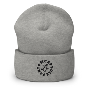 The Cadet Corps Cuffed Beanie (Chrome)