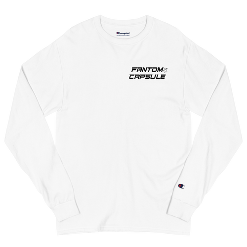 The Space Time Continuum Champion Fitted Long Sleeve Shirt (Space Ghost)