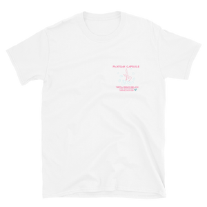 The Virtua Space Beach Pink Light District Unisex T-Shirt