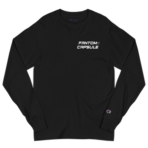 The Space Time Continuum Champion Fitted Long Sleeve Shirt (Deep Space)