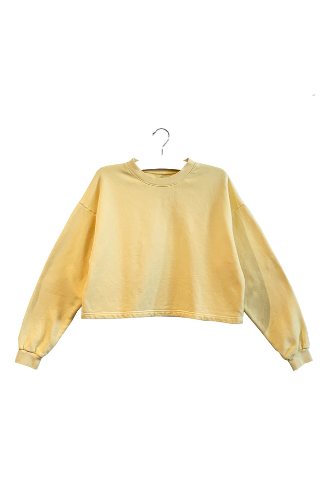 CHLOE | CROP SWEATSHIRT