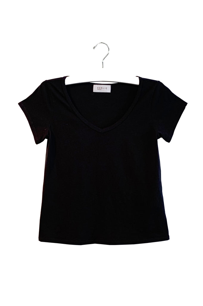 VIOLET | RECYCLED V-NECK