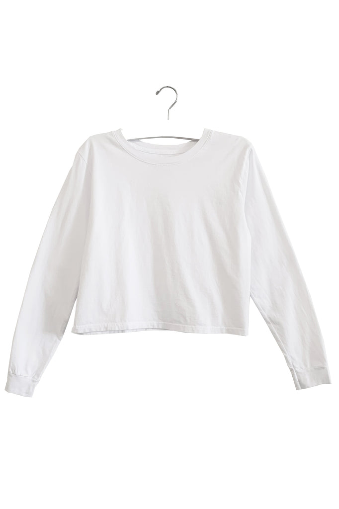 HARPER | LONG SLEEVE CROP