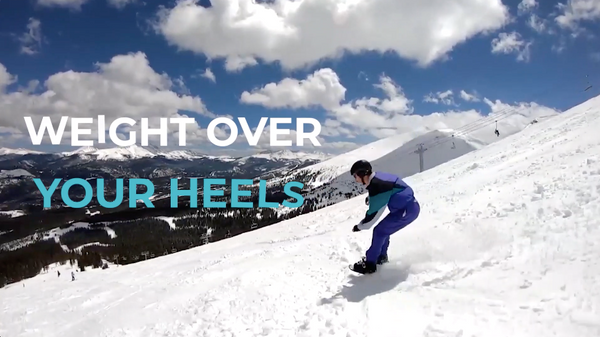 snowfeet tutorial weight over your heels