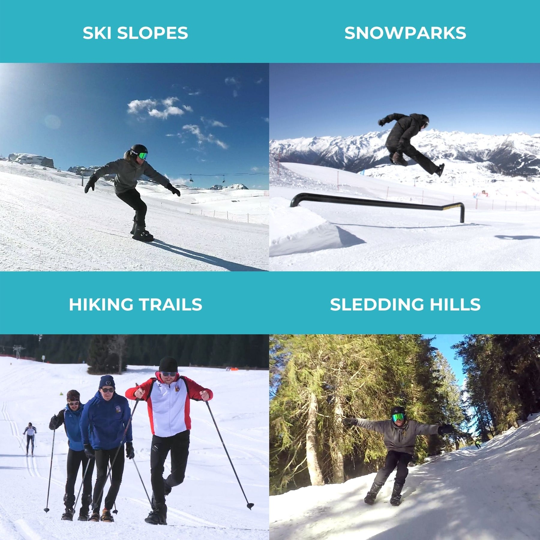 Outdoor Skiing Mini Sled Snow Board Ski Boots Ski Shoes Combine Skates With Skis
