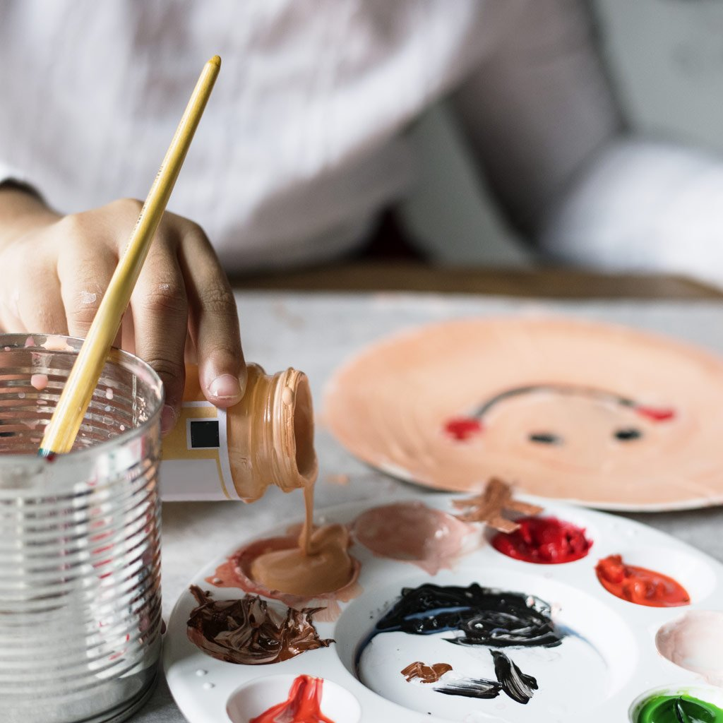 Kids' Pottery Birthday Party