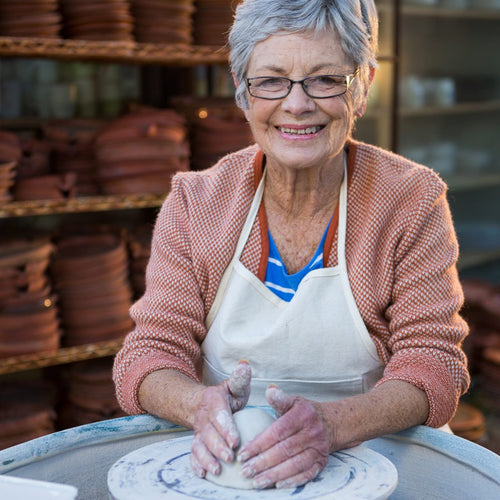 Studio Pottery for Seniors