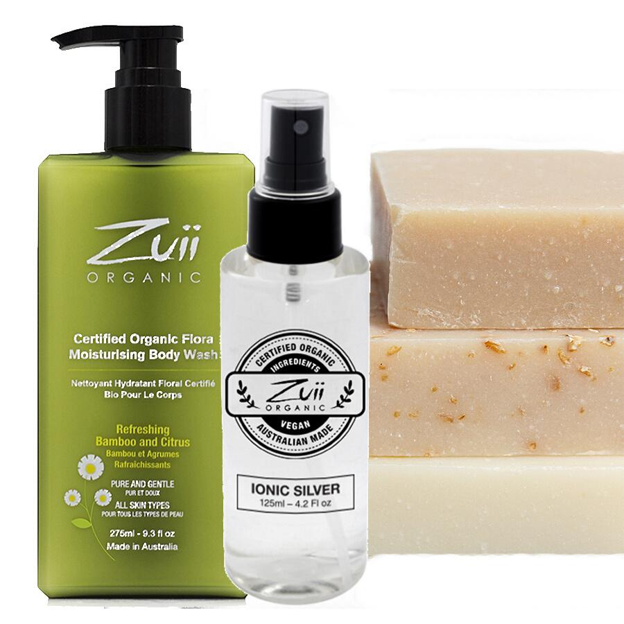 Organic Cleansing Trio