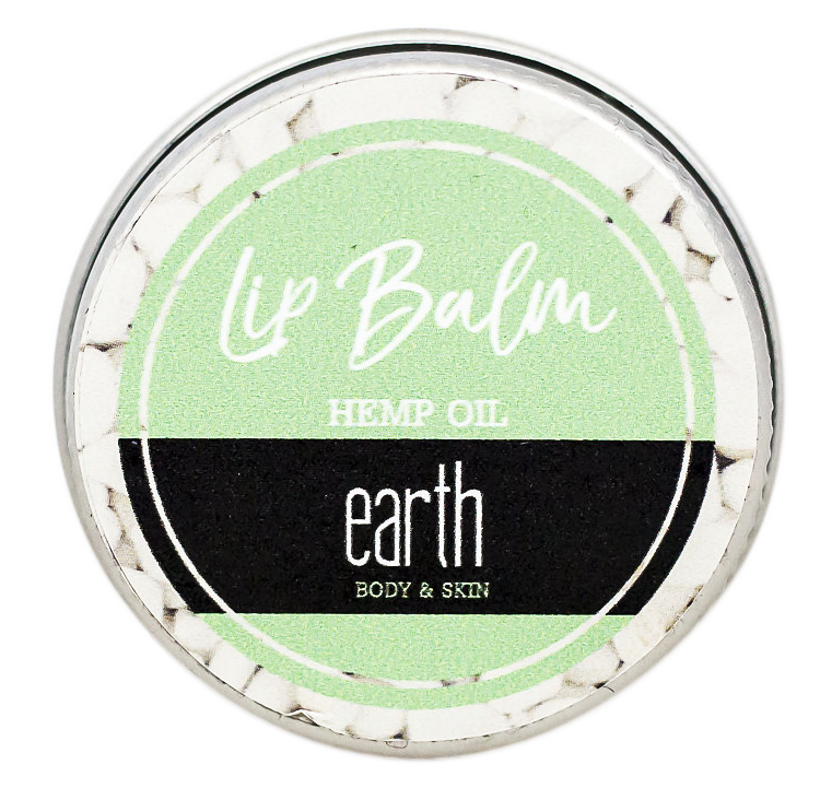 Earth Hemp Lip Oil Lip Balm