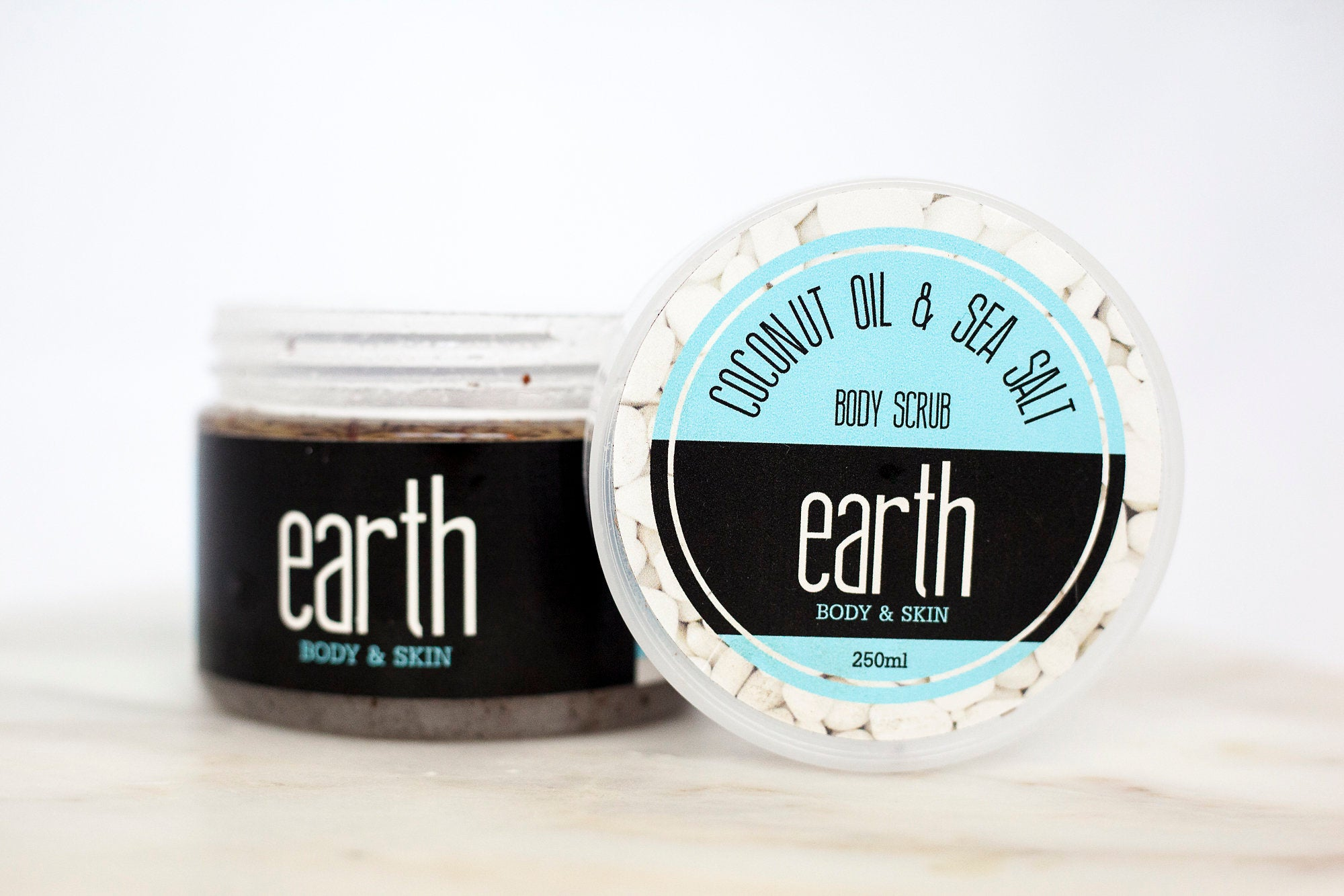Coconut Oil & Sea Salt Body Scrub