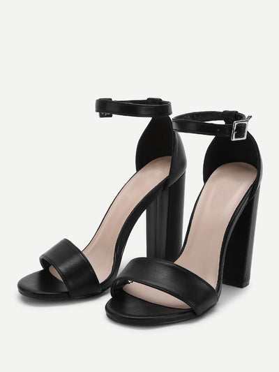 Two Part Ankle Strap Heels