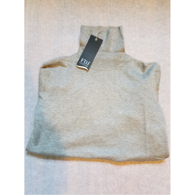 Long Sleeve Turtle Neck-silver1
